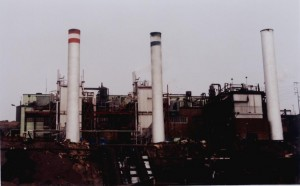 Vista de la Central Térmica San Nicolás